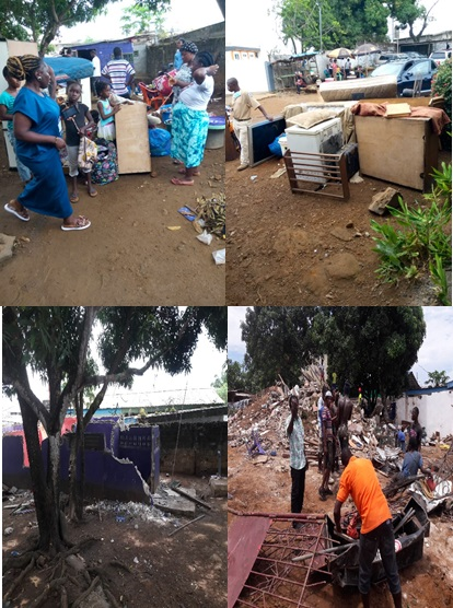 Ambassador Gang Accused of Eviction, But…….
