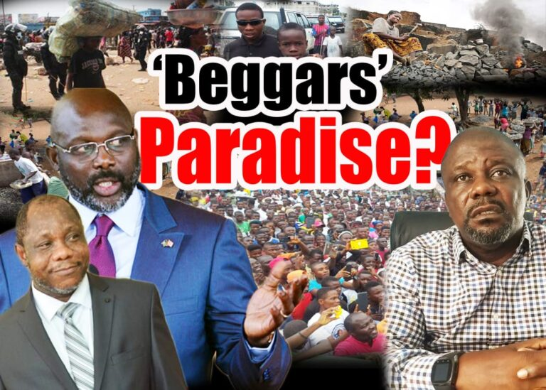 Beggars'  'Paradise'?