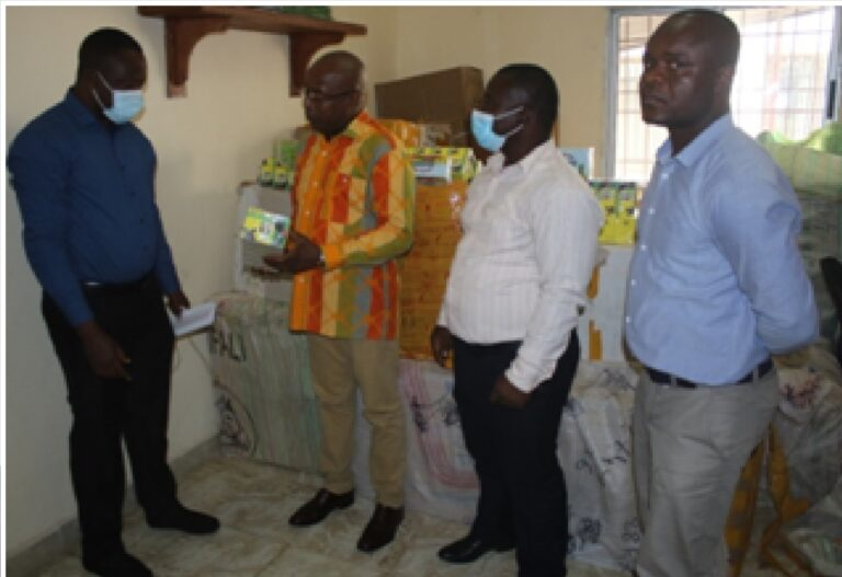 LRA Customs Turns Over Counterfeit Medicines To LMHRA