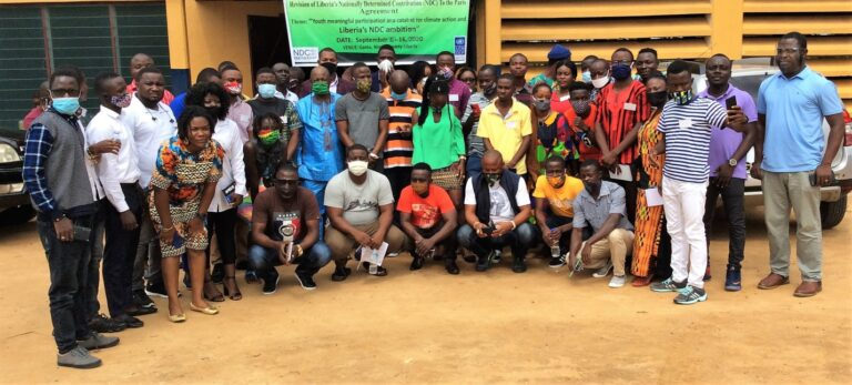 Liberia Holds Youth Dialogue For Revision of It's Nationally Determined Contributions