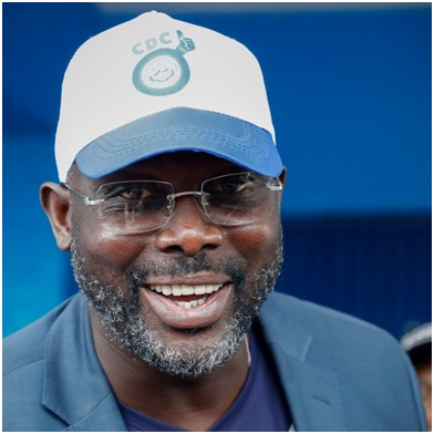 Ex-footballer George Weah to become Liberia's president | Liberia | The  Guardian