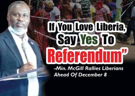 If You Love Liberia, Say Yes To Referendum